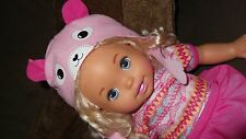 """Soft Doll 12"""" Baby Doll 2011 Sweet as Me Mattel Mermaid legs Excellent Adorable"""