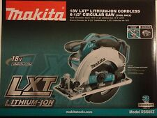 "MAKITA XSS02Z 18V 18 Volt LXT Li-Ion 6 1/2"" Circular Saw Replaces BSS611Z NIB"