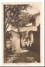 CHINA SOOCHOW (SUZHOU) VILLAGE STREET PRINTED POSTCARD OLD HOUSES VILLAGER