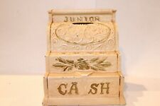 New ListingVintage Junior Cast Iron Cash Register Coin Bank