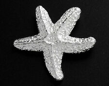 925 Sterling Silver Starfish Pendant 19.5mm.