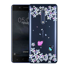 Soft TPU Silicone Case For Nokia 5 Protective Phone Back Covers Skins Marble