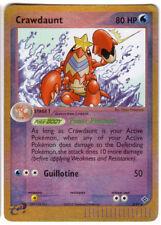POKEMON • Crawdaunt REVERSE HOLO • EX DRAGON 3/97