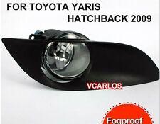FRONT CAR FOG LAMP /LIGHT FOR TOYOTA YARIS HATCHBACK 2009 2010 2011 ~ON