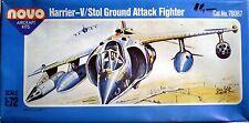 Harrier V-Stol Ground Attack Fighter della NOVO scala 1/72 kit montaggio, Aereo