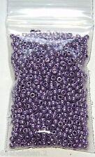 Perlen  Glasperlen - ROCAILLES - METALLIC LILA - 2,6 mm - 20 g