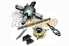 Flybarless Metal 3D Floating 4 Blades Rotor Head Set for 500 Helicopter RH300