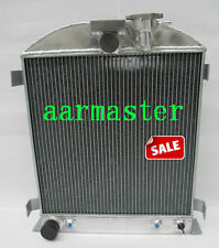 Ford Chopped engine  Aluminum Radiator 62mm Core 1932