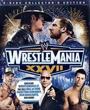 NEW 2 BLU-RAY SET / WWE: Wrestlemania XXVII ( Collector's Edition)//UNDERTAKER,