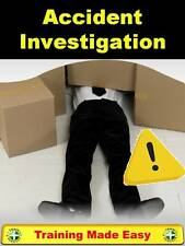Accident Investigation + RIDDOR - UK Health and Safety Training Made Easy