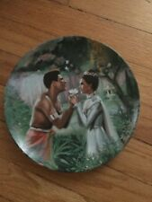 """Knowles The King And I Collector Plates """"We Kiss In A Shadow"""" 1985 Plate 18794C"""