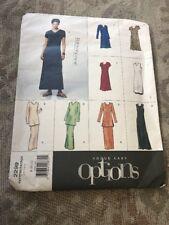 Vogue Easy Options 2299 Misses Dress Tunic Top Skirt Pattern Uncut Size 8-10-12