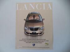 advertising Pubblicità 2004 LANCIA PHEDRA