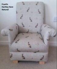 Fryetts Hartley Hare Fabric Child's Chair Natural Rabbits Armchair Kids Children