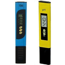 PÜRATest pH Tester & PÜRAtTest TDS Tester 2 for 1 Digital Meter Water Quality