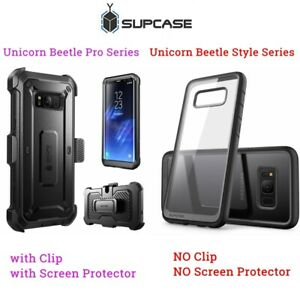 Genuine For Samsung Galaxy S8 S8+ Plus, SUPCASE Unicorn Beetle Hybrid Case Cover