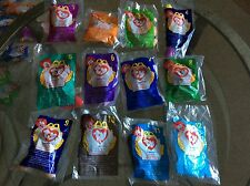 1998 Ty Mc Donalds Teenie Beanie Babies Complete Set of 12 brand new in bags