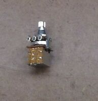 A500K Push Pull DPDT Audio Taper Guitar Potentiometer Control Switch Pot