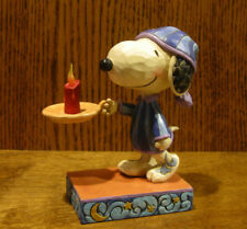 "Jim Shore PEANUTS #4055658 SNOOPY, ""BEDTIME BEAGLE"" New From Retail Store 5.125"""