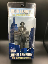 "NECA Reel Toys JOHN LENNON The New York Years 7"" Action Figure BLACK & WHITE"