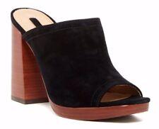 Frye Karissa Mule Black Womens Shoes Size 10 M HEELS