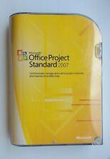 Microsoft Office Project Standard 2007 (Retail) - Full Version
