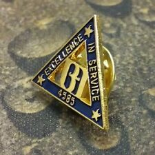 Bank of America Excellence in Service pin badge