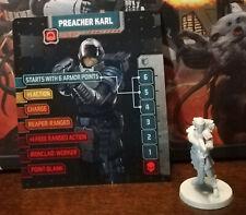 Zombicide: Invader Preacher Karl Survivor miniature Kickstarter Exclusive