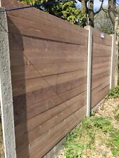 fence panels WOOD  Fast Fix Simply Slots Into Standard Concrete Post