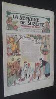 Revista Dibujada La Semana De Suzette que Aparecen El Jueves 1929 N º 13 ABE