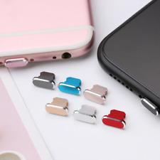 Anti Dust Plug Accesorios de Tapa de puerto del cargador para iPhone 6 7 8 XS 11-rápido post X