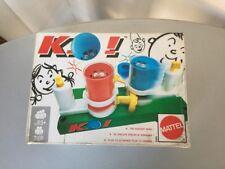 RARE VINTAGE 1990 KO BOARD BATTLE GAME MATTEL NEW #SEALED