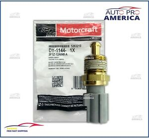 NEW OEM FORD MOTORCRAFT Radiator Coolant Temperature Sensor 3F1Z12A648A DY1144