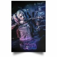 Harley Quinn Suicide Squad Poster Wall Art Print Decor High Quality