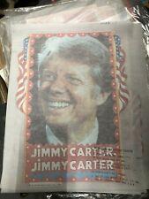 Jimmy Carter President T-Shirt Iron-On Vintage 1976 Political memorabilia Nos