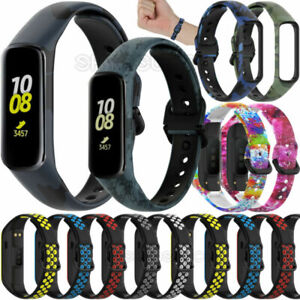 For Samsung Galaxy Fit 2 SM-R220 Soft Silicone Straps Watch Wrist Band Bracelet