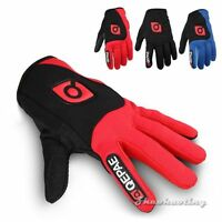 Shockproof MTB Men Women Riding Racing Mountain Bike Cycling Full Finger Gloves