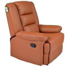 Leather Lounge Chair Armchairs