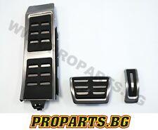 Audi Sport Pedalkappen Pedalset Pedale Fußstütze A4 S4 RS4 A6 S6 RS6 AUTOMATIK