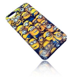 "MINIONS Handy Hülle Snap on Case Cover Schale Apple iPhone 6 ""Bath"""