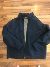 EXCELLENT CONDITION Men's Weatherproof Brand XXL Rain Resistant Jacket Blue