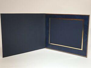 Denis Wright  10 x 8 Slip In Photo Mount 78 Series BLUE Landscape (Box of 25)