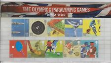 GB 2010 OLYMPIC & PARALYMPIC GAMES PRESENTATION PACK No. 444  SG:3097-3106 MINT
