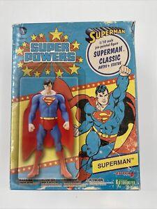 KOTOBUKIYA DC SUPER POWERS SUPERMAN CLASSIC 1:10 SCALE PRE-PAINTED ARTFX+ STATUE