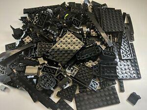 100 Random LEGO Black Bulk Lot of Bricks Plates Specialty Parts Pieces star wars