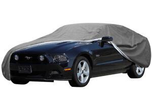 7 Layer Car Cover Indoor Outdoor Waterproof Breathable Protective Fleece Lining