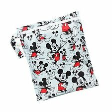 Bumkins Disney Baby Zippered Wet Bag Mickey Mouse Classic