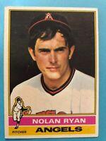 1976 Topps Baseball Card #330 Nolan Ryan California Angels HOF