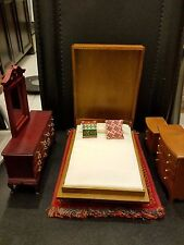 Miniature Space Saving Furniture Folding Wall Bed with Rug and furniture set