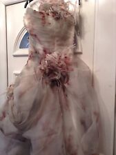 sexy fancy dress zombie corpse bride cosplay ooak